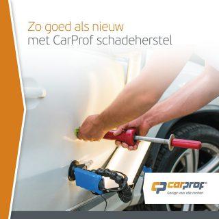 Dat ene deukje begint u steeds meer op te vallen. Dat begrijpen wij goed bij CarProf. Laat onze specialisten u helpen zodat uw auto er weer als nieuw uitziet! Maak direct een afspraak.